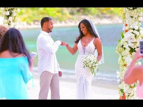 FIRST PHOTOS! KENYA MOORE WEDDING CEREMONY  KENYA MOORE IS MARRIED IN ST  LUCIA!