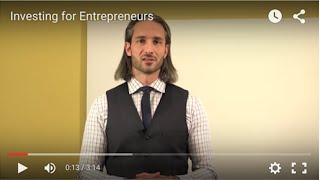 Investing for Entrepreneurs
