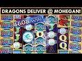 DRAGONS INVADE MOHEGAN SUN! *NEW* River Dragons Slot Machine & 5 DRAGONS DELUXE!