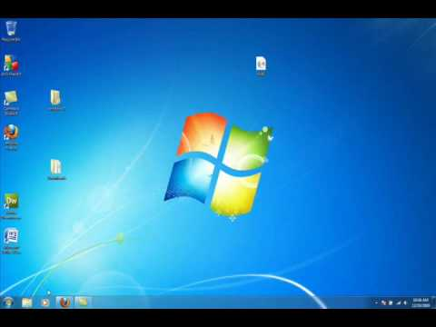 How to Pin Items To Task Bar Windows 7