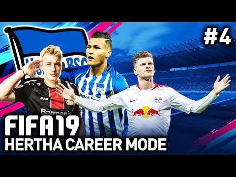 GOALS GOALS GOALS! | HERTHA CAREER MODE #4