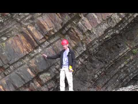 Cornwall Bude Haven Late Carboniferous Formation