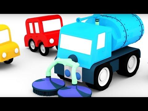 Видео, Мультики для детей 4МАШИНКИ. Субботник Мультфильмы для детей про машинки. Развивающее видео