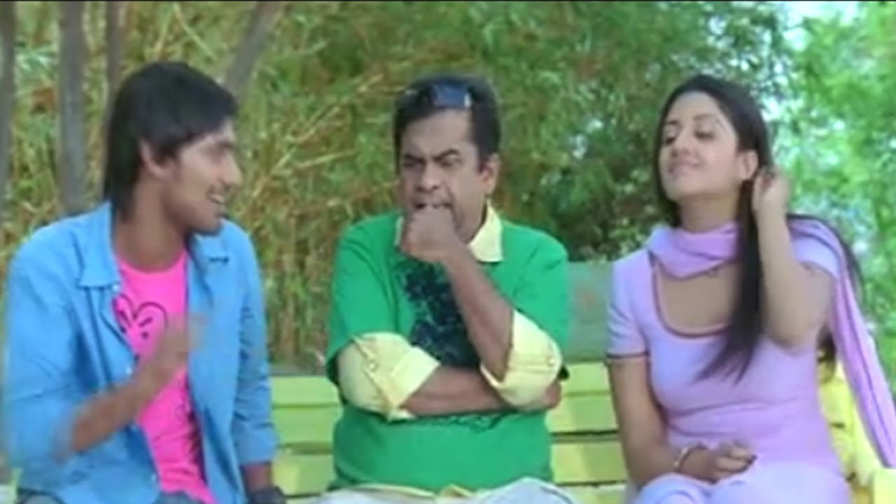 Brahmanandam Funny Conversation With Varun Sandesh And Vimala Raman Scene || Super Hit Movies