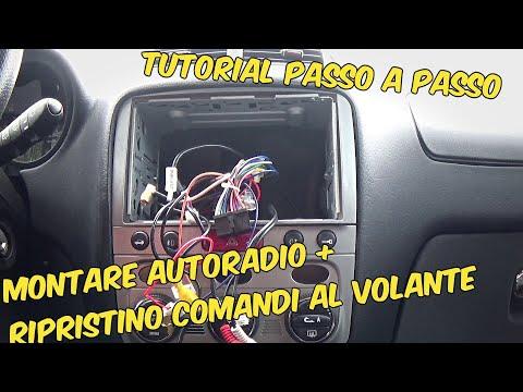 Sound Way Kit Montaggio Mascherina Quadro di Radio//autoradio 2/DIN per Peugeot 308