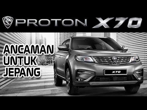 RILIS SUV X70 TURBO PROTON & GEELY TANTANG DOMINASI SUV JEPANG DI ASEAN