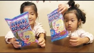 パチパチわたゼリー cotton jelly candy thumbnail