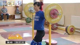 Как готовятся к олимпиаде украинские тяжелоатлетки