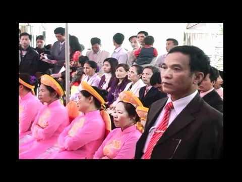 Lễ Khánh Thành Nhà Thờ Tổ Họ Bùi thôn An Quý xã Cộng Hiền_VB_HP_Phần 1