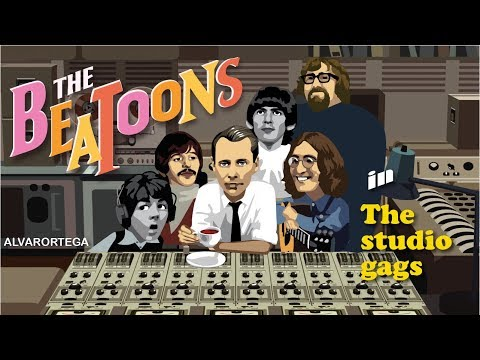 The Beatoons - The Studio Gags