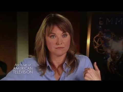"Lucy Lawless on working with Andy Whitfield and Liam McIntyre on ""Spartacus""- EMMYTVLEGENDS.ORG"