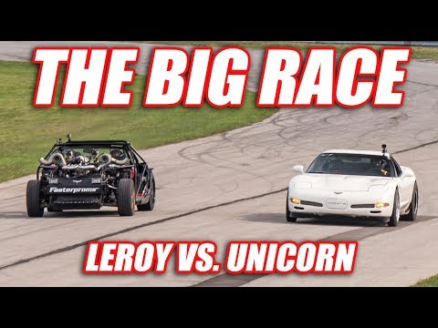 THE BIG RACE! (Leroy vs. Unicorn)