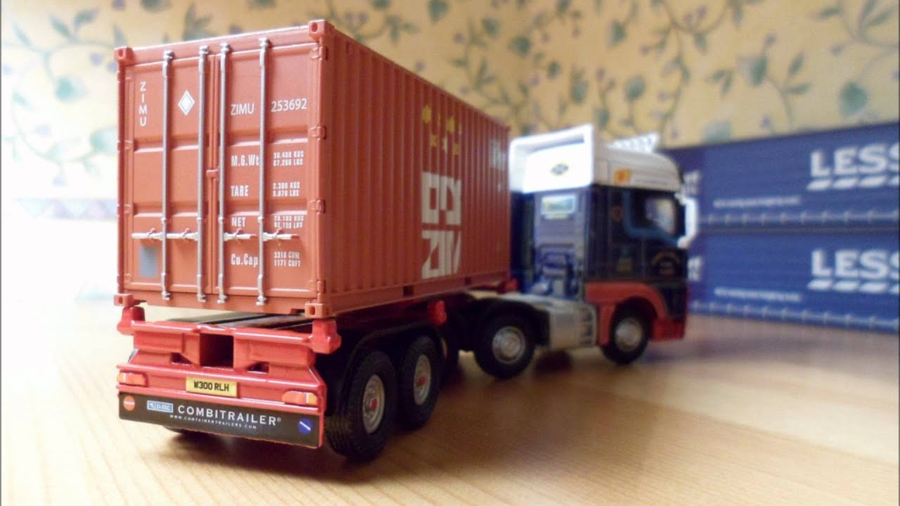 Fitting Dapol Shipping Containers To The D Tec