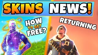 Pieles Fortnite: ¿COMO OBTENER LA PIEL DE GALAXY GRATIS? + Royale Skin Returning! (Battle Royale Android)