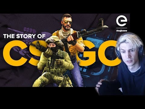 xQc Reacts to The Story of CS:GO: The Game That Never Dies
