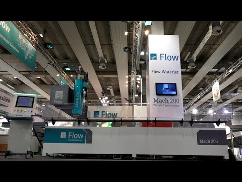 Flow Waterjet at Marmomacc 2017 - Introduction of the new Mach200