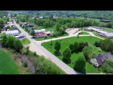 Sheffield VT - View From A Drone - 4K Ultra HD - Green Mountain Drone