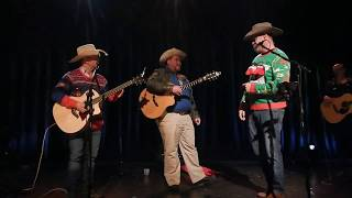 Will MacLeod singing with George Canyon on Friday, December 13th, 2019
