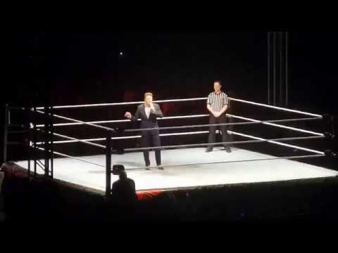 Wwe Live India Roman Reigns Vs Big Show Fight