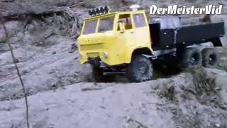 Polski STAR 266 6x6 OFF-ROAD / My First RC Video From 2009 / Re-edited Version