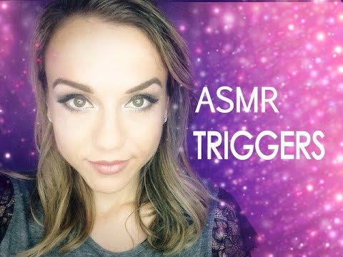 ASMR Soft Whispers With Tapping and Other Triggers