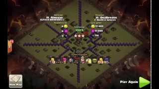 Bender - TH8 HoLoWiWi   Clash of Clans   TH8 War Attack Strategy