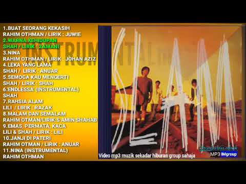 Album pertama SLAM 1993 FULL ALBUM(Khaty&zam)