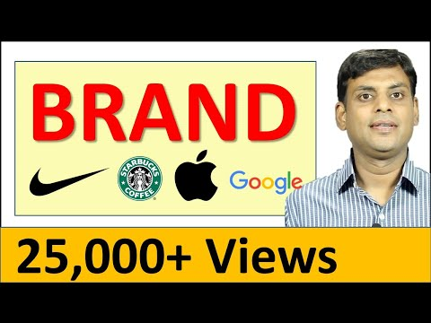What is a Brand - Marketing Management Video Lecture by Prof. Vijay Prakash Anand