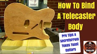 How To Bind A Telecaster