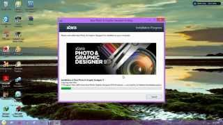 How To Install  Xara Photo & Graphic Designer 9 Full Version