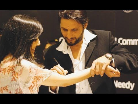Shahid Afridi Telling The Story When One Girl Proposed Him