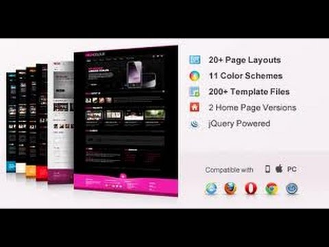 Premium Website Templates Free Download Youtube