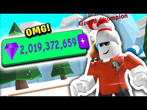 I Now Have 2 BILLION GEMS (Roblox Bubble Gum Simulator)