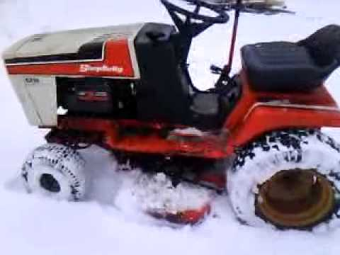 Simplicity Allis Chalmers 6216 Lawn Tractor Walk-O-Round