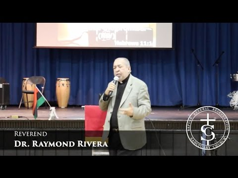 "Rev. Dr. Raymond Rivera ""The Consequences of Blindness"""