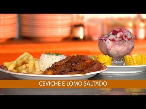 CEVICHE E LOMO SALTADO