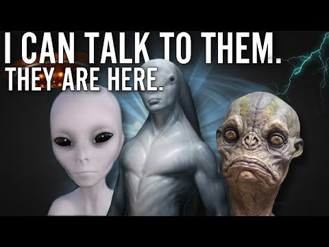 Aliens Are REAL And They  Among Us Talking to ETs w GINA WALTON