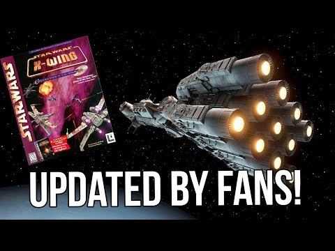 Star Wars X-Wing - PC CLASSIC Getting Rebuilt By Fans!!!
