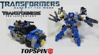 Lego Transformers Dark of the Moon: Topspin (Wreckers 1/3)