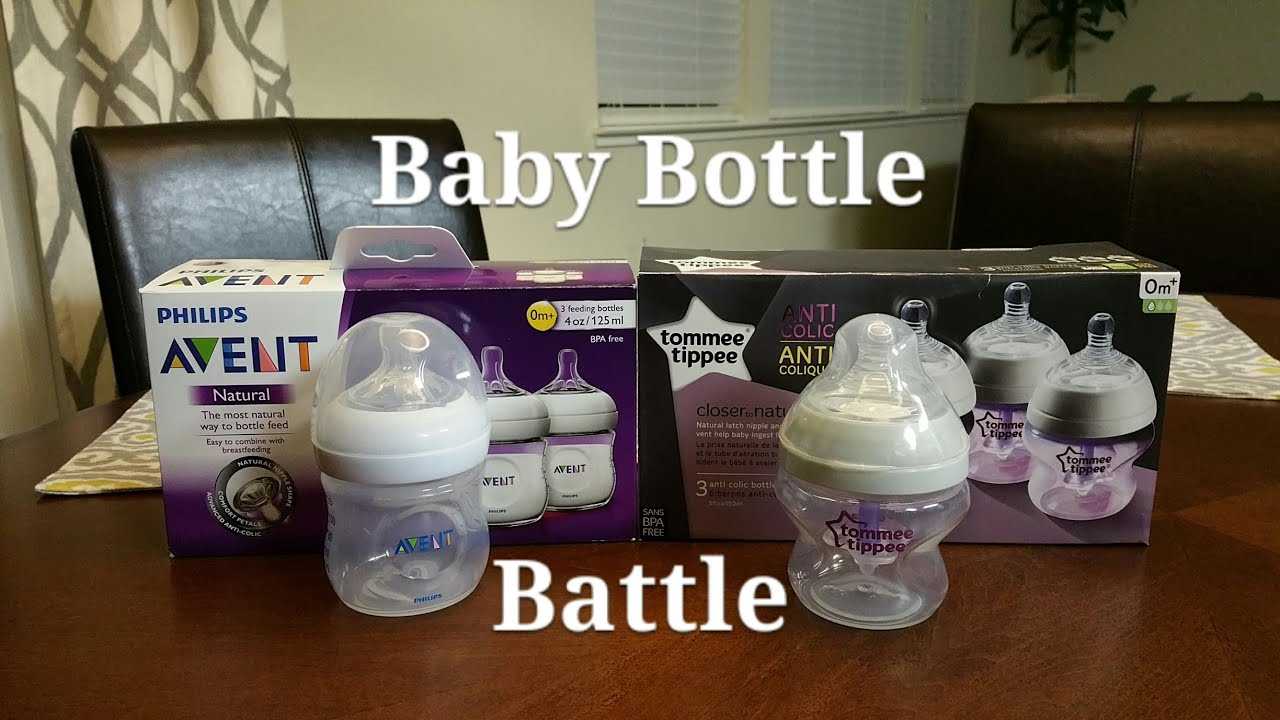 How To Choose Baby Bottles Philips Avent Vs Tommee