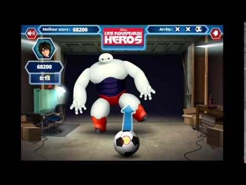 Hero 6 Official Disney Game Penalty Kick with Baymax