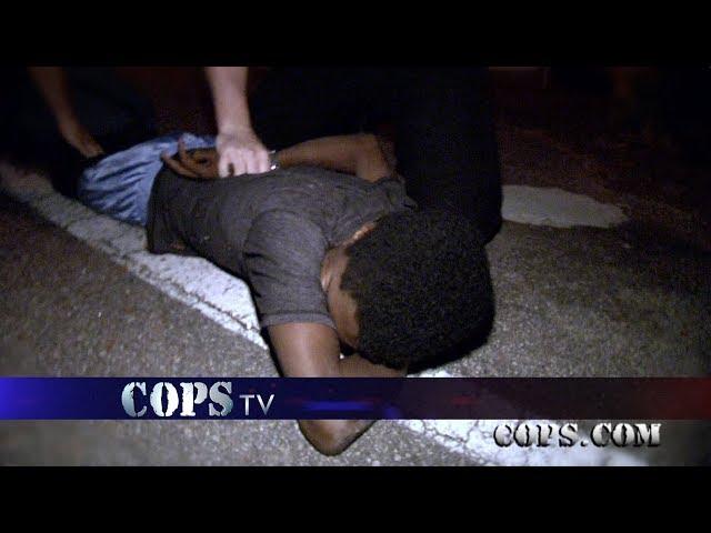Jeep Joy Ride, Deputy Chris Tucker, COPS TV SHOW