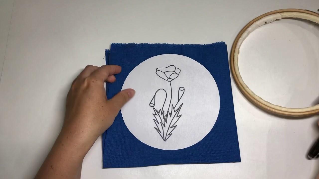 Перенос картинки на ткань