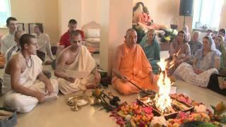 2009.06.20. Yagya H.H. Bhaktividya Purna Swami - Riga, LATVIA