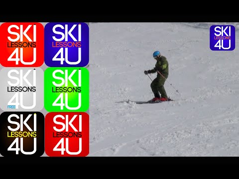 Intermediate Ski Lessons #3 - Ski Drills - Learn How to Ski - Ski Technique - Ski School