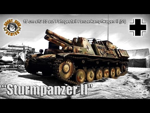 "War Thunder: ""Sturmpanzer II"", German, Tier-1, SPG / Tank Destroyer"