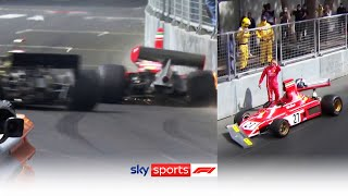 Marco Werner takes out Jean Alesi after thrilling battle for first in Monaco Historique 2021!
