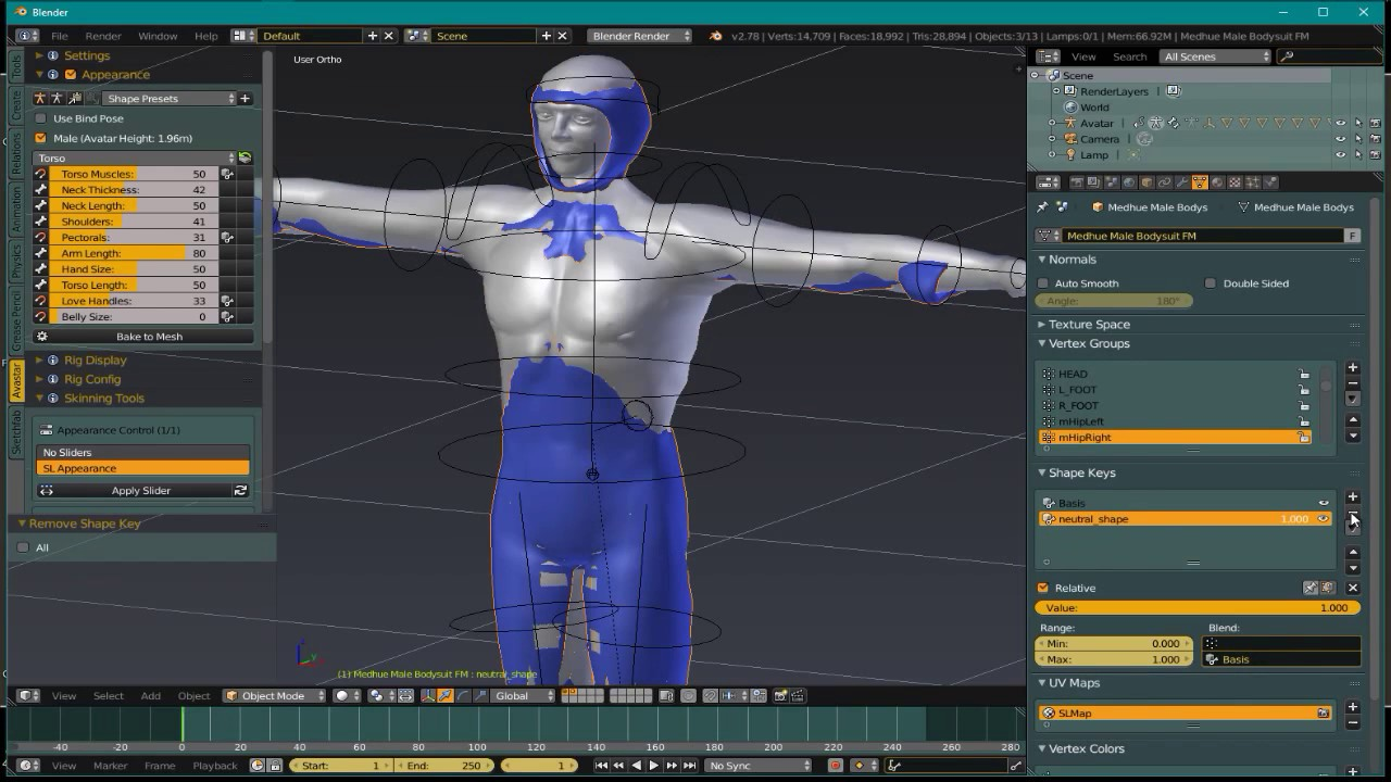 Medhue Weighted Bodysuits for Avastar | Medhue Animations