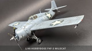 1/48 HobbyBoss F4F-3 Wildcat