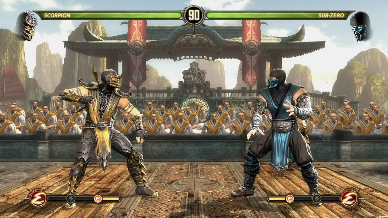Image result for Mortal Kombat Komplete Edition PC